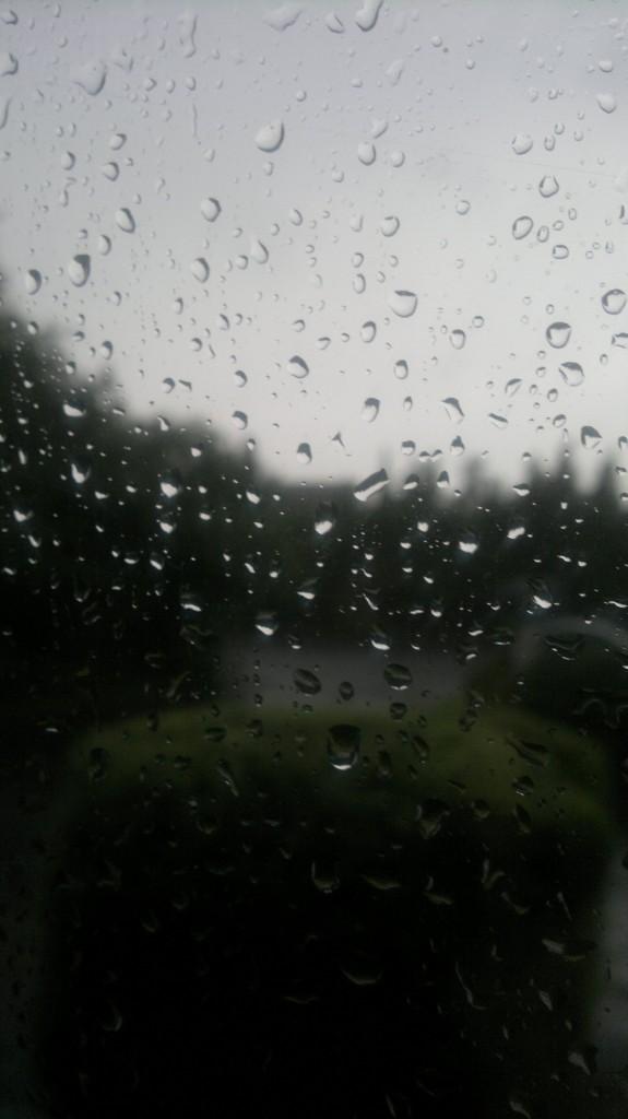 Lots of Rain on the Windows