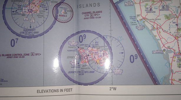 Jersey Aero Chart