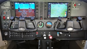 G-MEGS Garmin 1000 Glass Cockpit