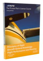 Principles of Flight / Flight Planning & Performance: PPL 4