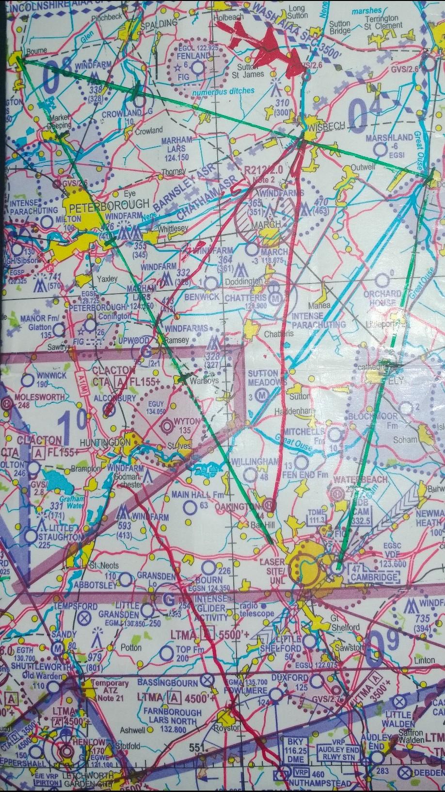 Skills Test Nav Route