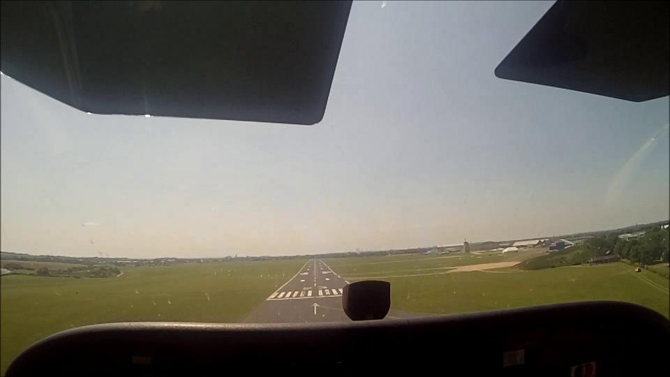 Landing Runway 23