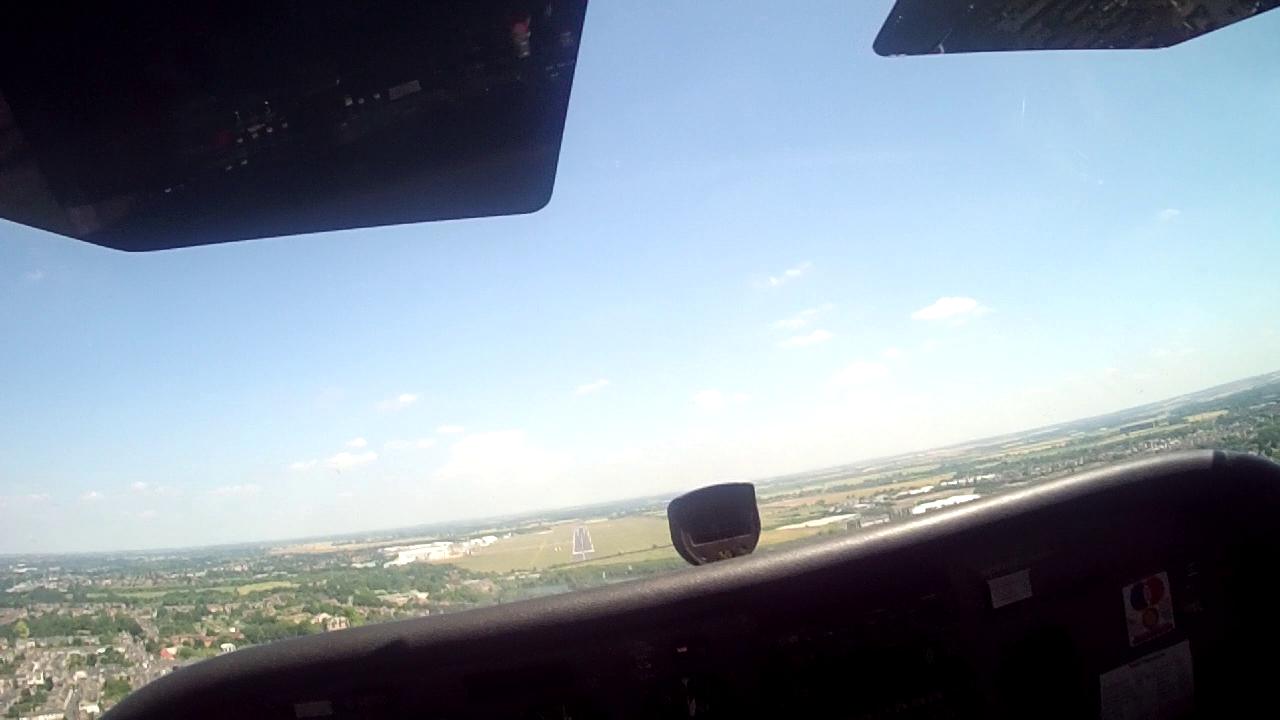 Landing Runway 05