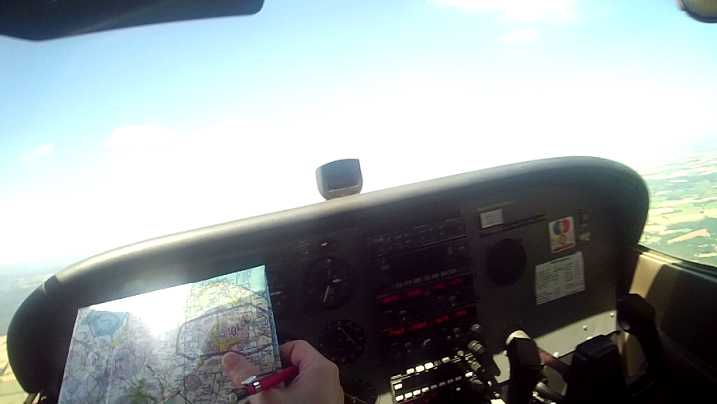 Nav 2 Cockpit with Map