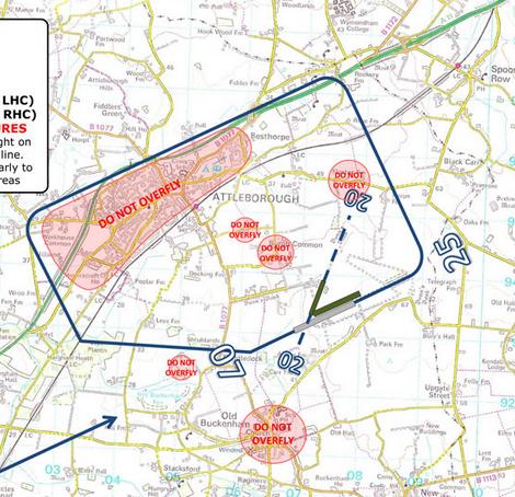Old Buckenham Circuits Pattern