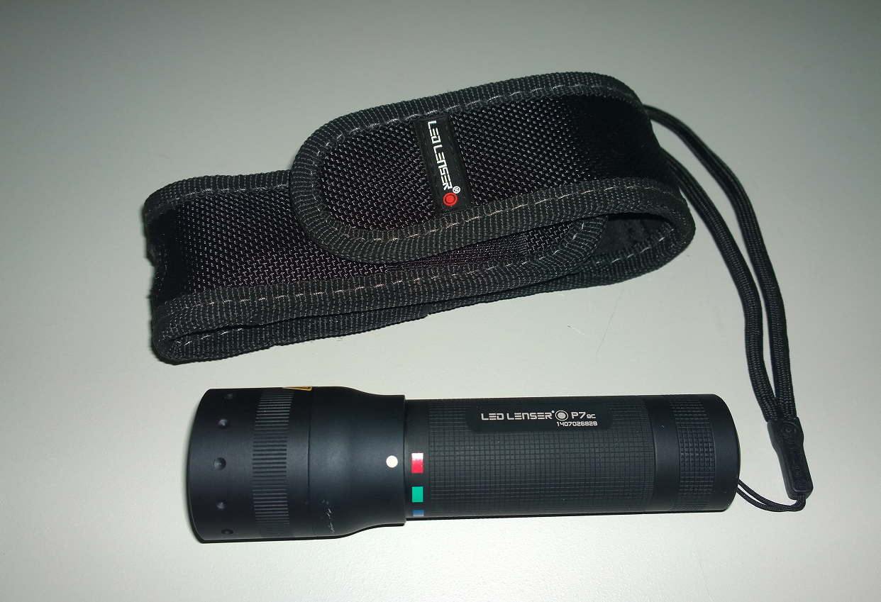 LED Lenser P7QC Horizontal