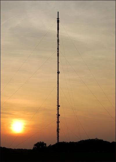 Sandy Transmitter Mast