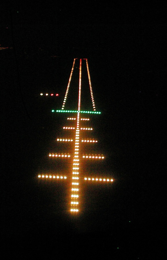 Approach Lights, PAPI's & Runway Lights