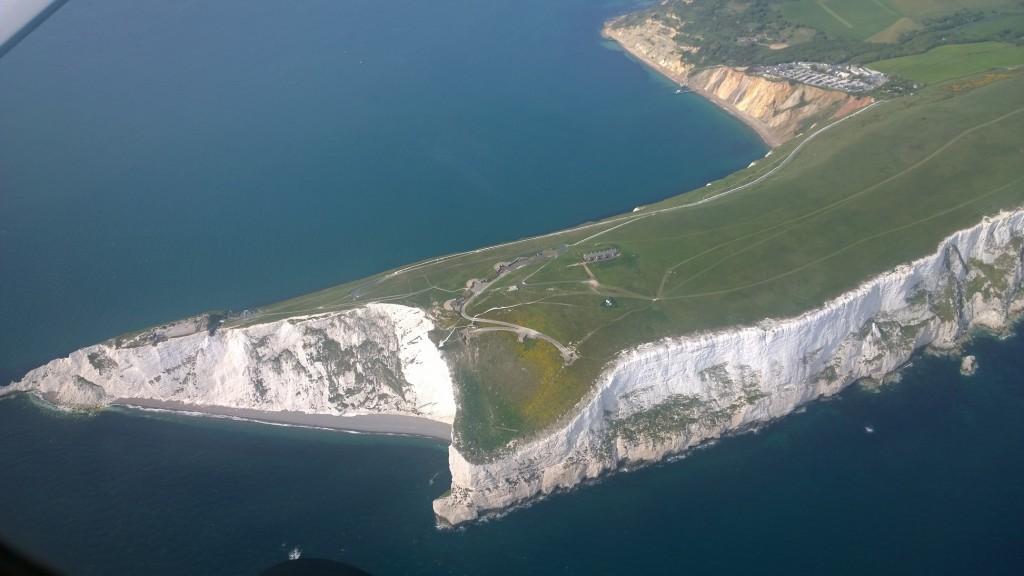 White cliffs near The Needles