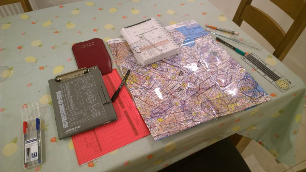 Planning Turweston Flight